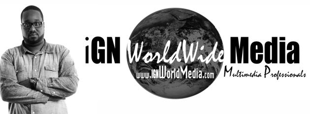 Keith Burroughs and IGN World Media Logo